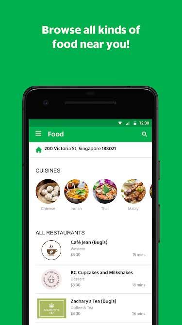 GrabFood App 2